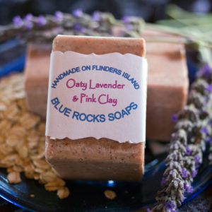 Oaty Lavender & Pink Clay - Blue Rocks Soaps